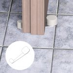 Fermaporta Girevole – Bianco – Fermaporta girevole – Blister da 1 pz