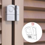 Door Alarm – Bianco – Mini allarme a batterie – Blister da 1 pz
