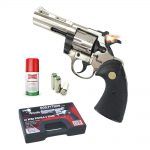 HARD PUNISHER – 330.014 PYTHON REVOLVER 380 CHROME top firing
