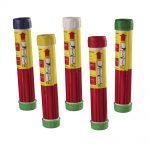 Fuochi Artificiali – Fumogeni a mano (20x bianco, giallo, rosso, verde, blu)  0297M | Confezione da 100 Pz.