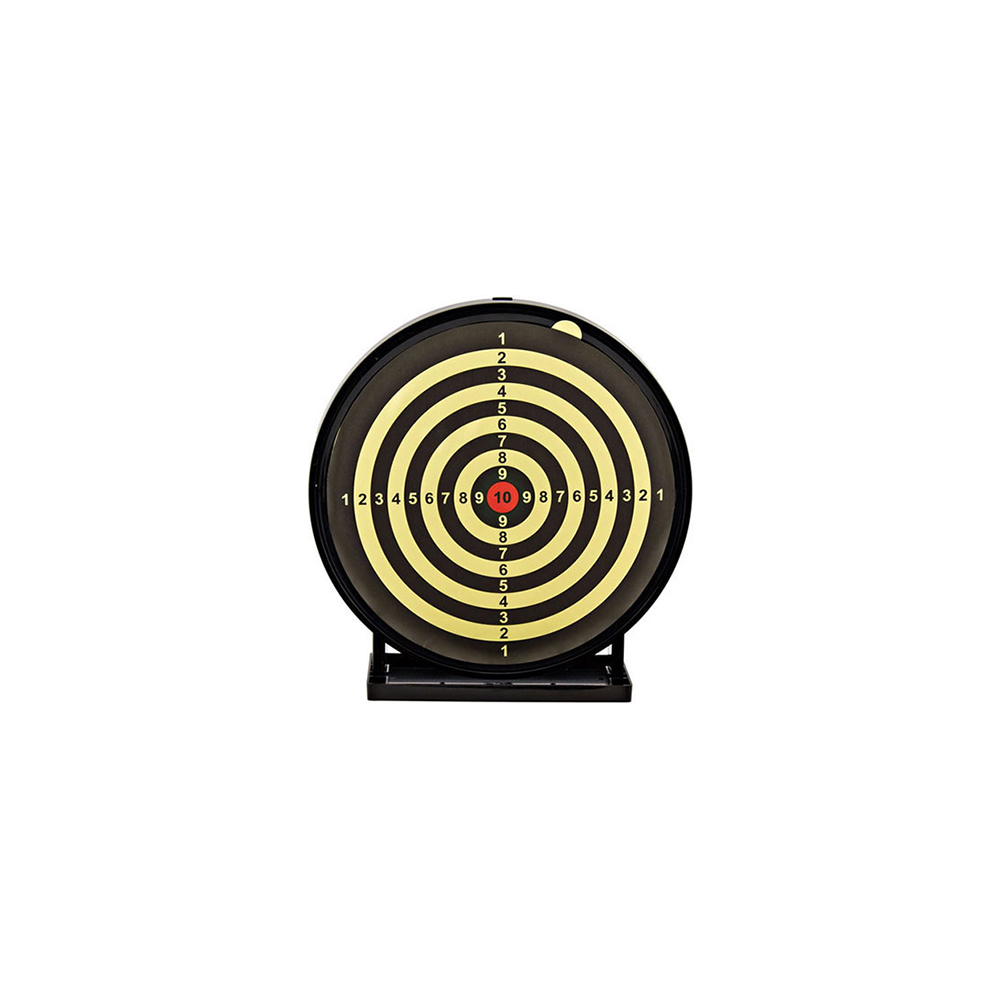 63406-3 Swiss Arms Target Sticky Black/Yellow Large 12 (MPQ=3/1)