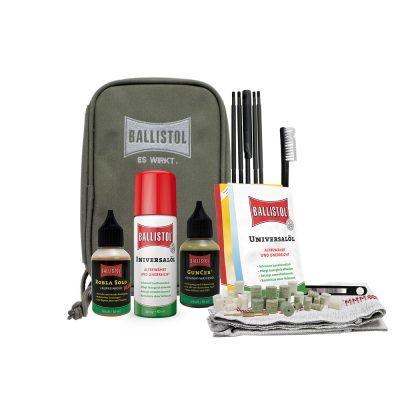 BALLISTOL Kit da viaggio manutenzione armi –  1 Box