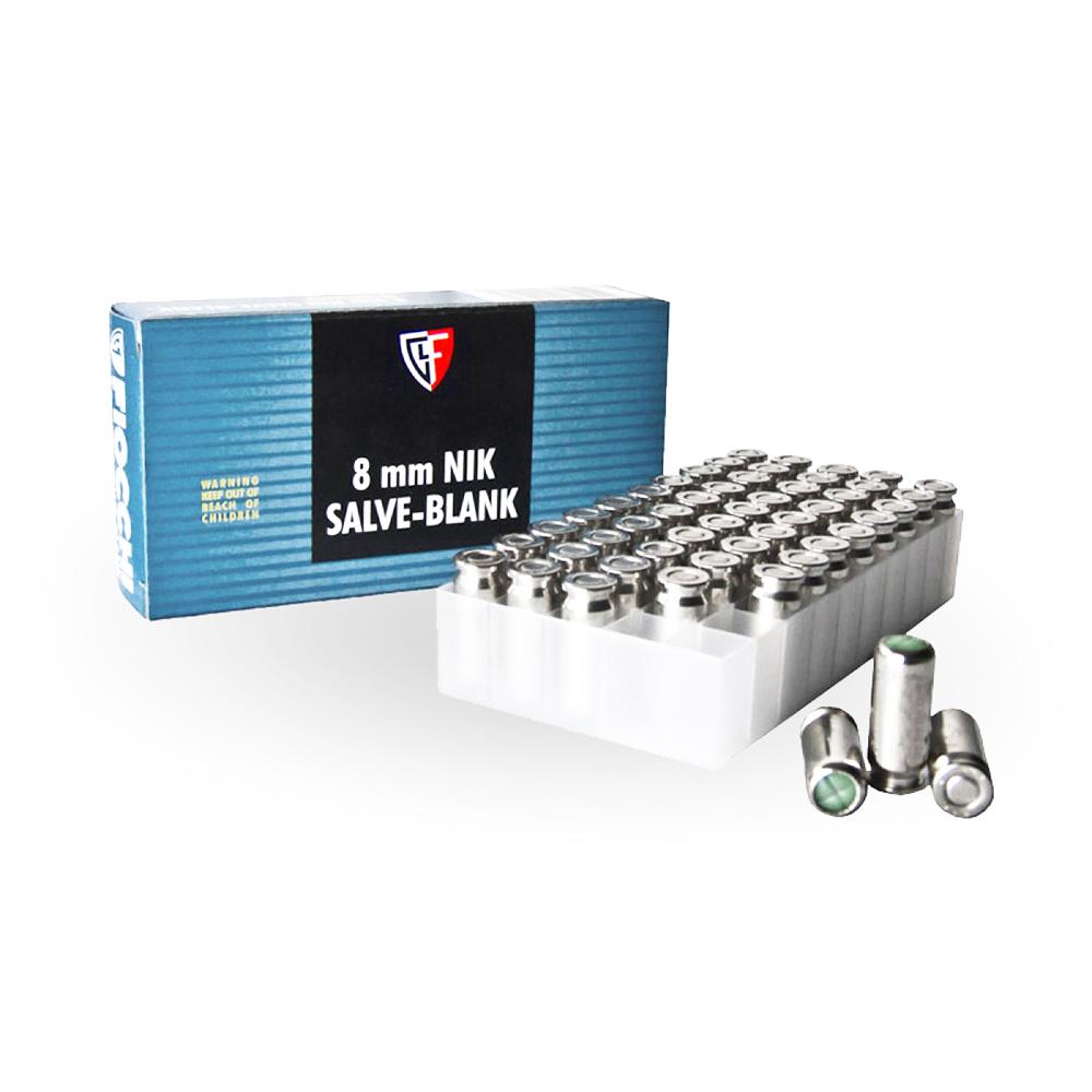 CARICHE A SALVE FIOCCHI -CAL 8 MM- 50 PZ – Colpi per pistole a salve